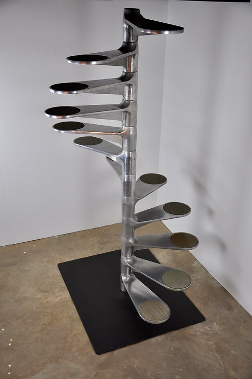 Spiral Staircase by Roger Tallon for Galerie Lacloche, 1980