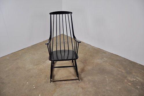 Scandinavian Rocking Chair by Lena Larsson for Nesto, 1958
