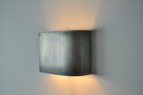 French Brushed steel Wall Lamp, 1950S Set 4
