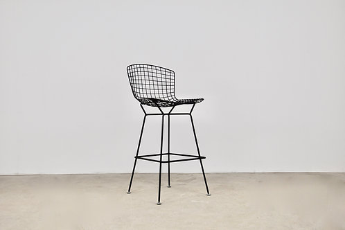 Wire Bar Stool by Harry Bertoia for Knoll Inc 1970S