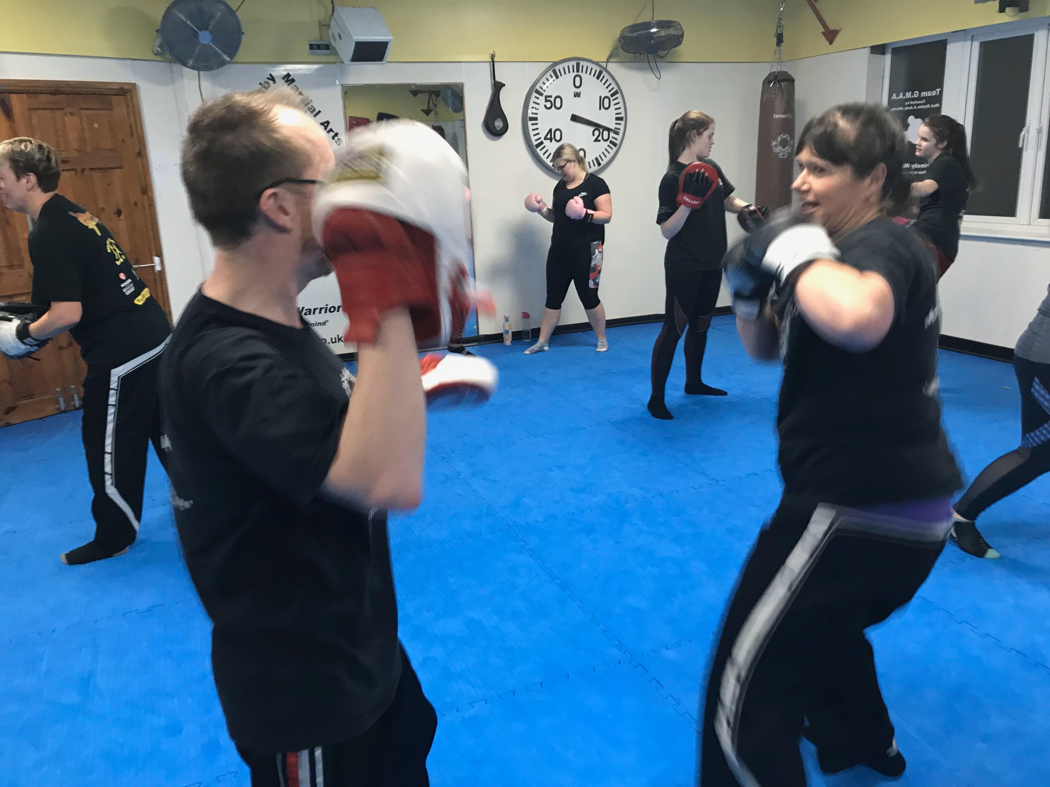 Monday Adults Kickboxing