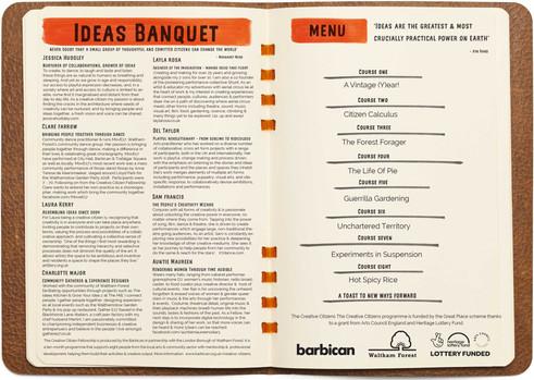 Creative Citizen Fellowship & Ideas Banquet
