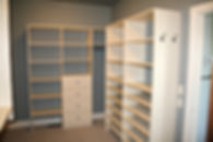 Custom Master Closet Great for Organization
