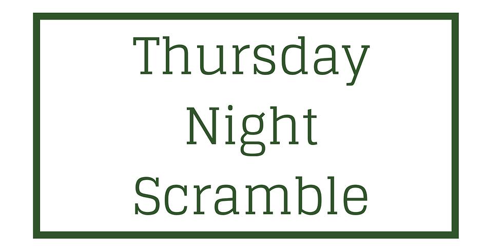 Thursday Scrambles