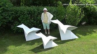 L'artiste-créateur bourguignon, URVILLE, présente ses Cocottes©