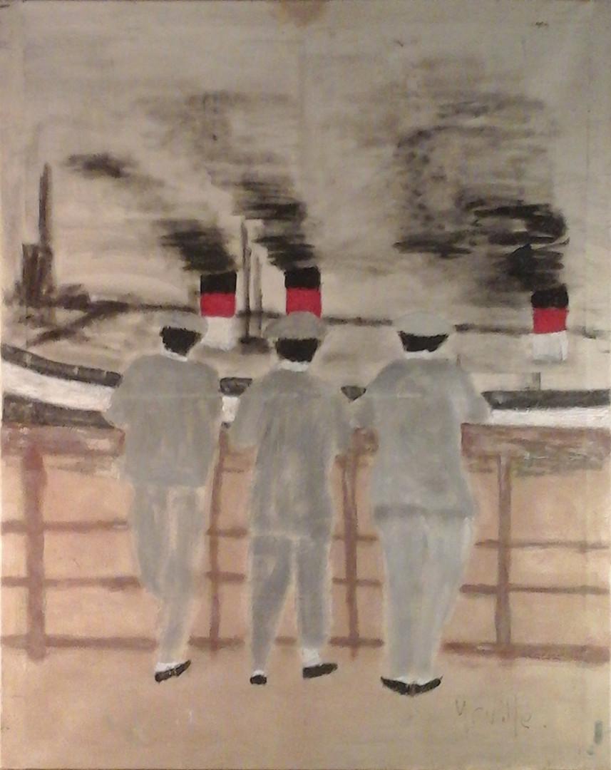 Trois garçons, un bateau, le bosphore.jp