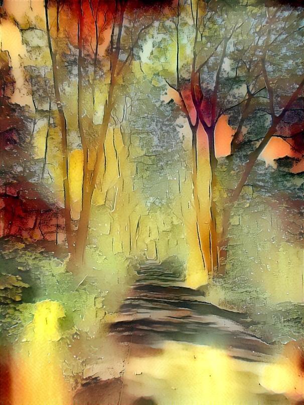 Through the Trees by Joann Eldridge