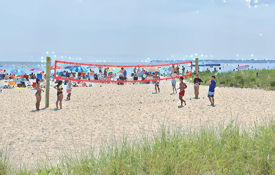 Summer's Volley Folly by Joy Barry