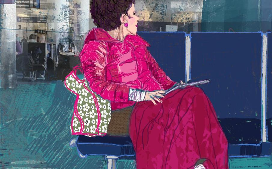 Flight Delay by Barbara Braman