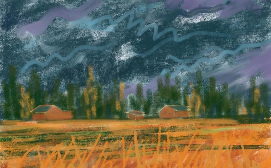 Stormy Skies by Meredith Regal