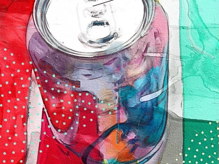 Tin Can by Rita Colantonio