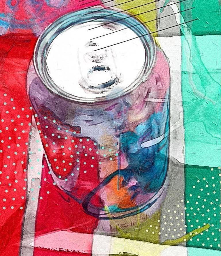 Tin Can by Rita Colantonio