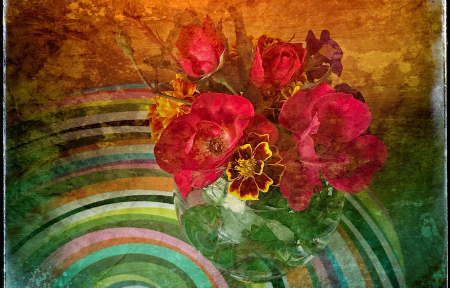 Flowers for a Loved One by Judith Gardner