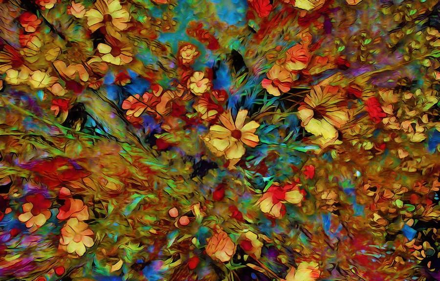Enthusiasm! Flower Bomb! by Pamela Marin-Kingsley