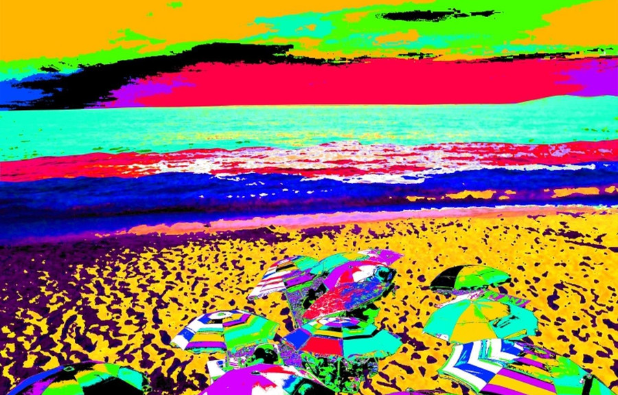 Abstract Playas by Byron Keener