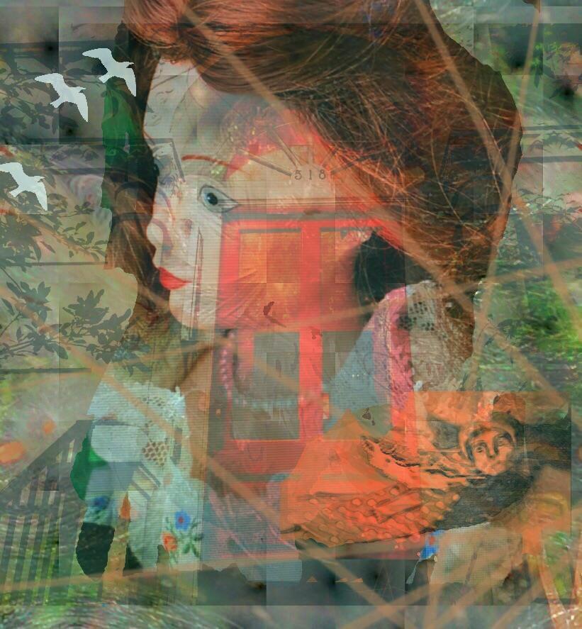 Locked at Home by Katya Rosenzweig