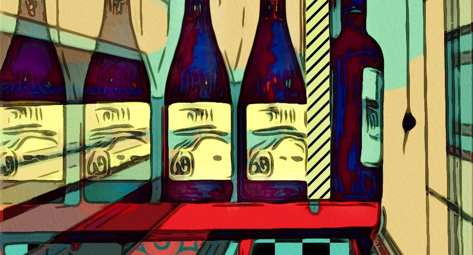 The Wine Cellar by Rita Colantonio