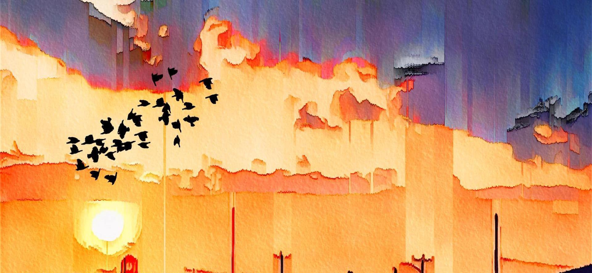Tornado Over Cape Cod by Katya Rosenzweig