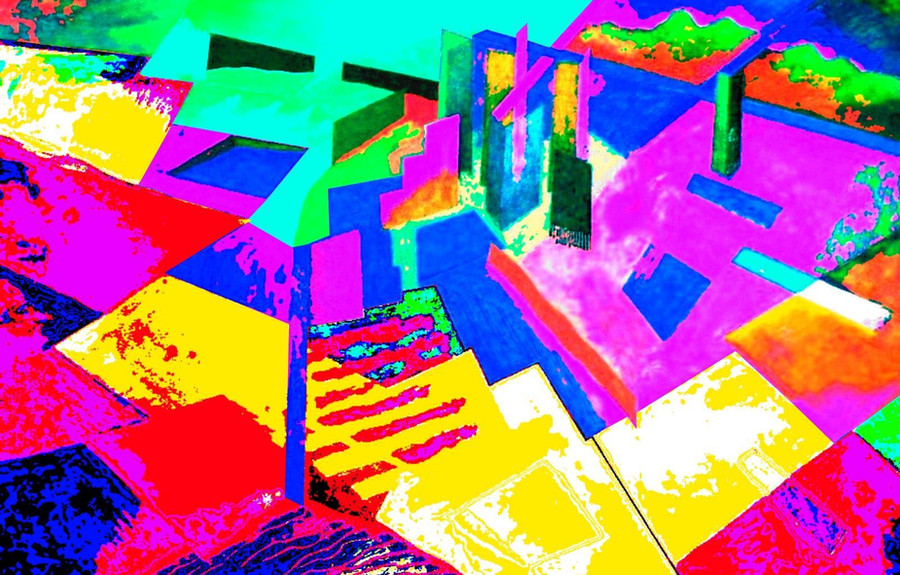 Abstract City by Byron Keener