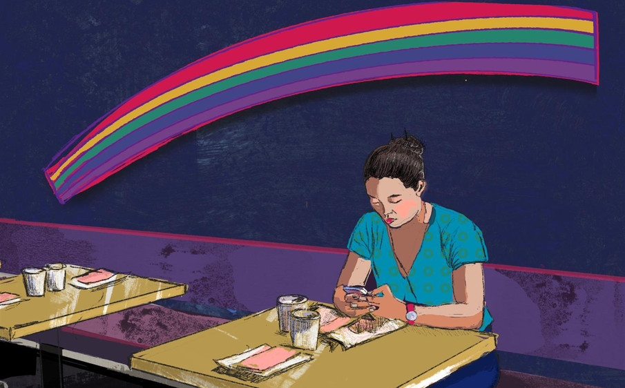 Waiting for a Friend by Barbara Braman