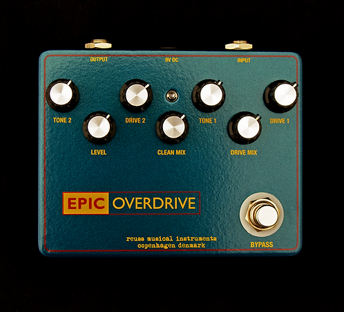 Reuss Effects - Epic Overdrive