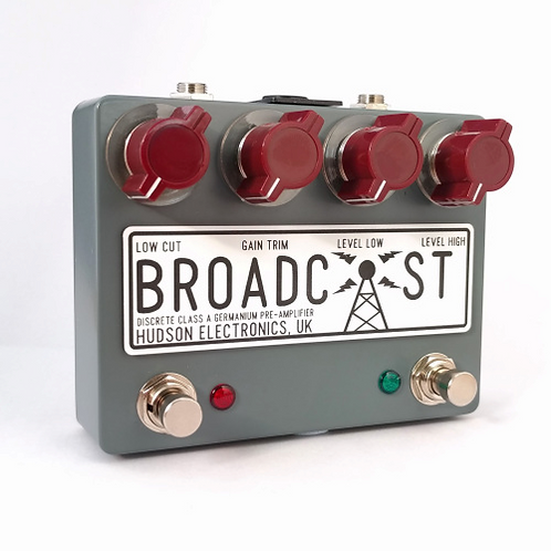Hudson Electronics - Broadcast Dual Switch Boost/Overdrive