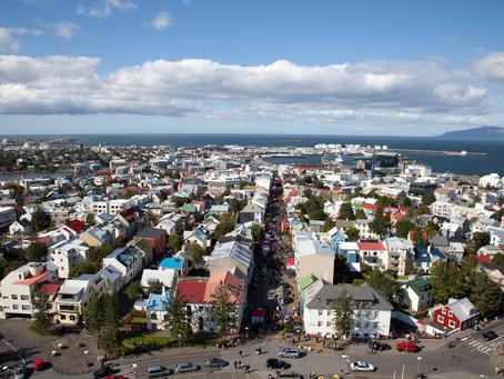 Reykjavík, the capital of Iceland