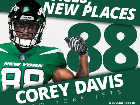 New Faces in new places - Corey Davis