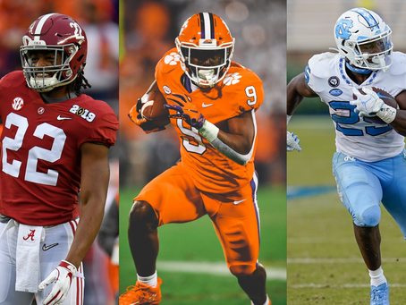 The Top Three Rookie Running Backs: What are the Pros and Cons of Each in Re-Draft?