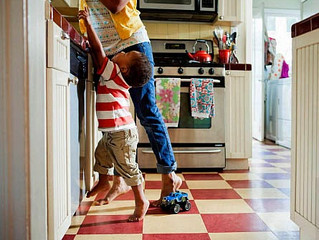 Quem cuida da casa?