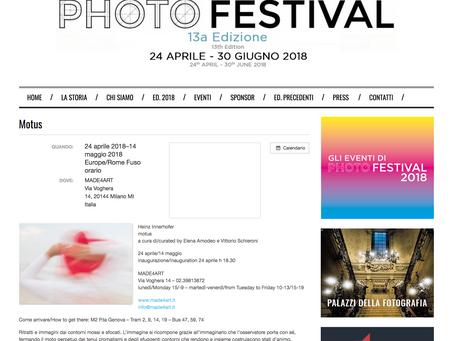 Milano Photofestival 2018