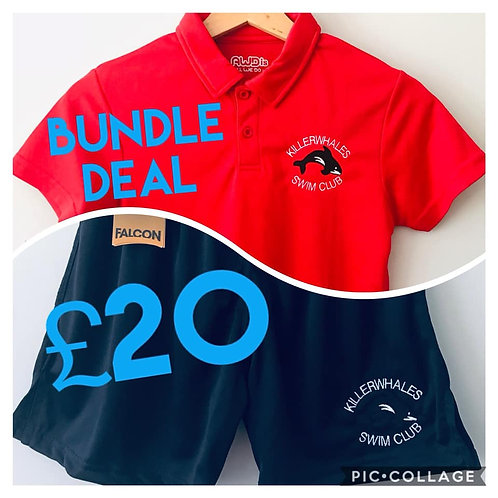 Quick Dry Polo & Shorts Bundle