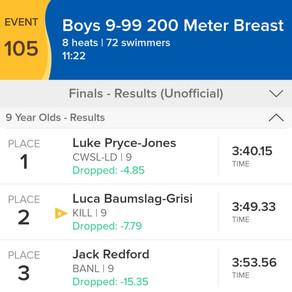 Boys 200 Breast & Girls 200fly