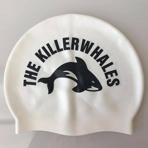 Killerwhales silicone Swim Hat