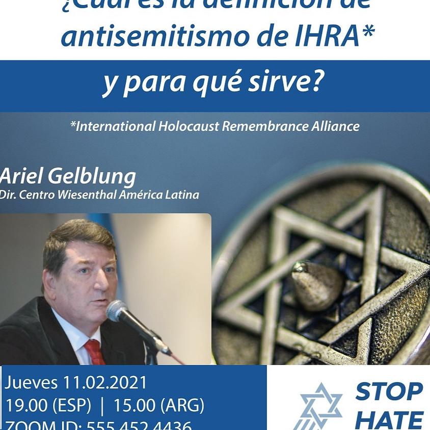 La Definición de Antisemitismo de IHRA