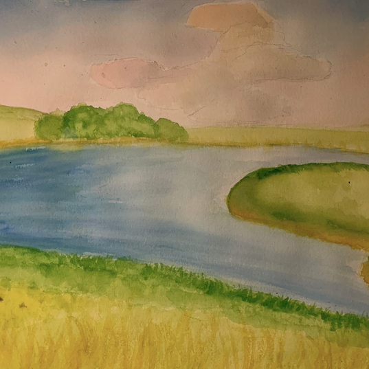Watercolor Laandscape