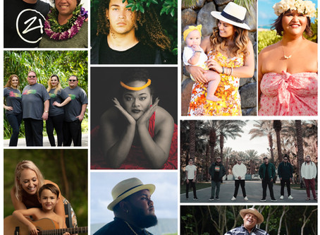 Haku Records releases a 13-track collaborative album, Hawaiian Lullaby