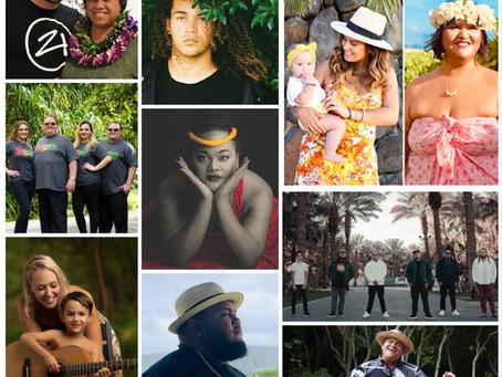 Haku Records releases a 13-track collaborative album, Hawaiian Lullaby