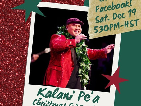 Kalani Pe'a Christmas Giveaway & Show!