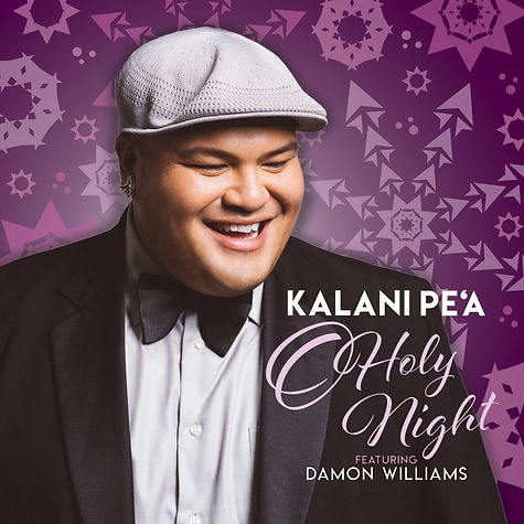 KALANI PE'A O HOLY NIGHT - COVER ARTWORK