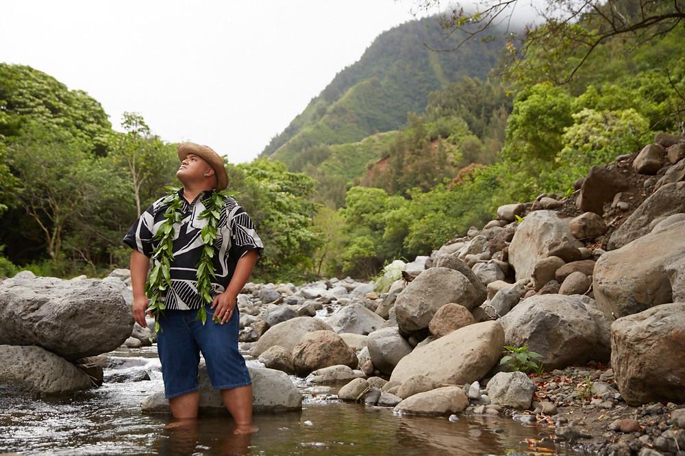Kalani Pe'a - Iao Valley Maui HI