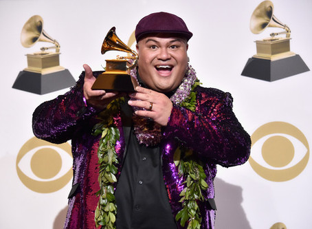 Kalani Pe'a wins his second Grammy