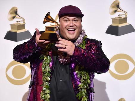 Kalani Pe'a wins his second Grammy