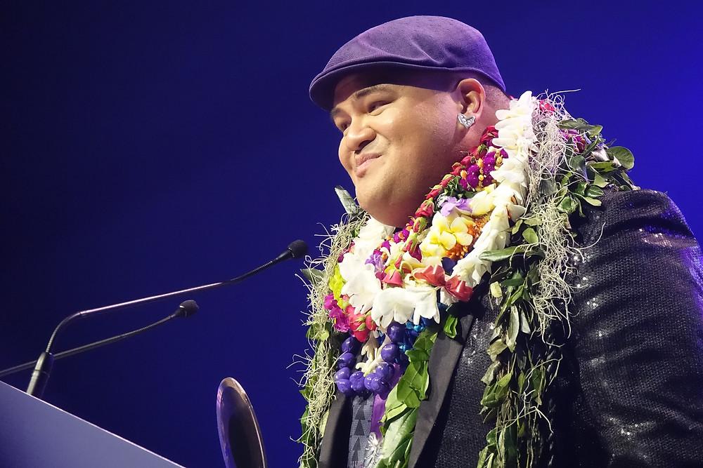 Pe'a at the 2017 Na Hoku Hanohano Awards