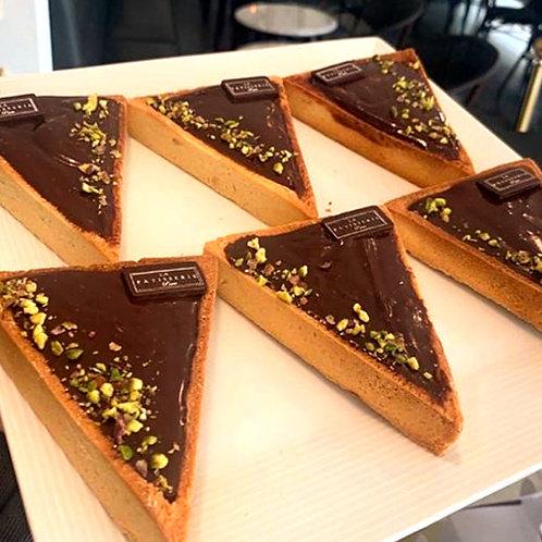 Tarta de Ganache de Chocolate