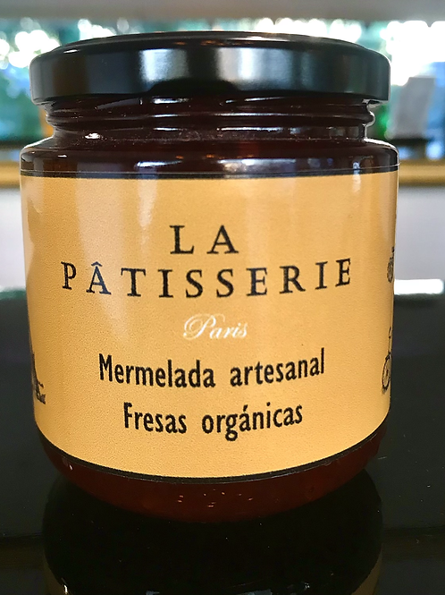 Mermelada de fresas orgánicas