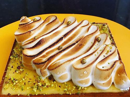 Tarta de limón merengue