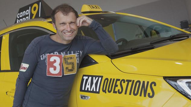 Olivier Delaloye avec Taxi Question