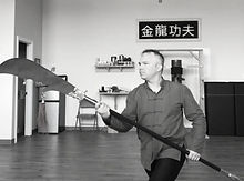 Shifu with Kwan Dao