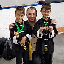 Kids Medals with Shifu